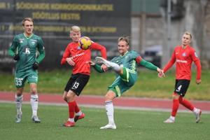 Premium liiga kohtumine Narva Trans - FCI Levadia