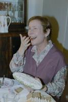 Näitleja Helgi Sallo Alma rollis draamasarjas