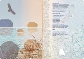 Estonia's new passport designs.