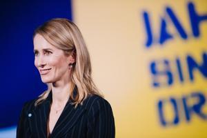 На съезде Партии реформ председателем партии была переизбрана Кая Каллас