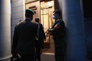 President Kersti Kaljulaidi kutsel kogunes riigikaitse nõukogu.