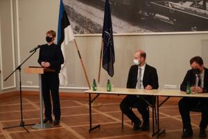 Riigikaitse nõukogu järgne pressikonverents.