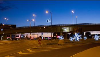 Рождественское оформление Таллинна.