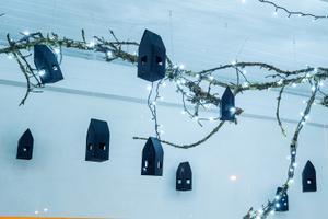 На Певческом поле открылся Рождественский парк.