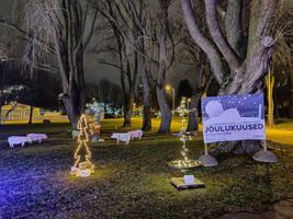 Tallinna lauluväljakule püstitati alternatiivsed jõulupuud