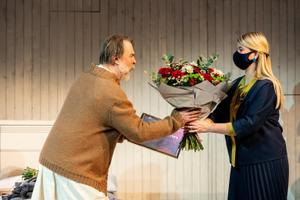 Eesti näitlejate liidu uus auliige on Martin Veinmann.