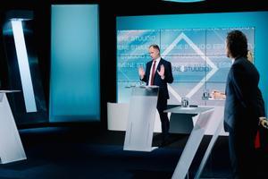 Дебаты в передаче Esimene stuudio на тему ограничений.