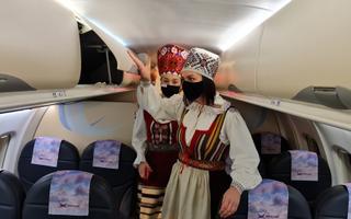 The first NyxAir flight from Tallinna-Kuressaare.