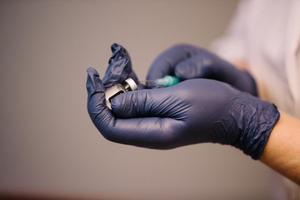 Esimene koroonaviiruse vastu vaktsineerimine Tallinnas