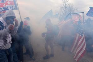 Беспорядки в Вашингтоне.
