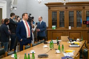 Заседание конституционной комиссии Рийгикогу.