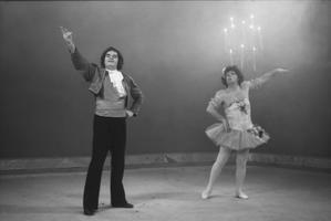 Harilik kontsert. Näitlejad Vello Viisimaa, Sulev Nõmmik. Detsember 1981