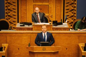 Riigikogu January 13 sitting.
