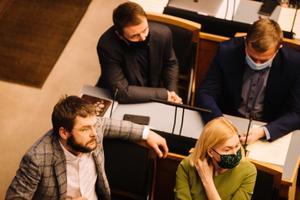 Заседание Рийгикогу, 13 января.