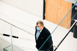 Aivar Mäe in court on January 18.