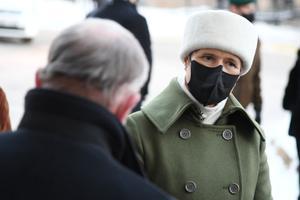 Керсти Кальюлайд посетила Нарвскую больницу.