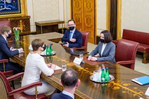 Керсти Кальюлайд встретилась со Светланой Тихановской..