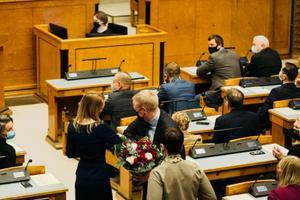 Kaja Kallas asks Riigikogu for mandate to form government on January 25.