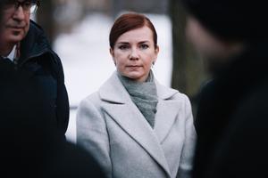 President Kersti Kaljulaid appoints Kaja Kallas' government.