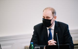 Rural affairs minister Urmas Kruuse (Reform).