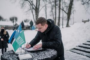 Tõrva. The Tartu 2024 cooperation agreement signing took place in 19 municipalities in South Estonia.