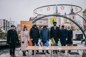 Võru. The Tartu 2024 cooperation agreement signing took place in 19 municipalities in South Estonia.