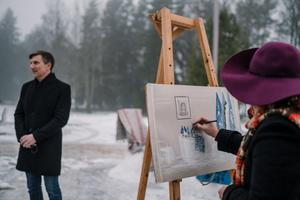 Elva. The Tartu 2024 cooperation agreement signing took place in 19 municipalities in South Estonia.