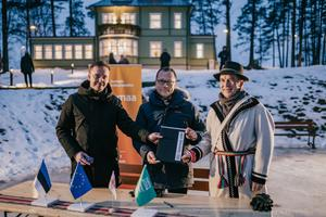 Setomaa. The Tartu 2024 cooperation agreement signing took place in 19 municipalities in South Estonia.