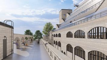Planned reconstruction at the National Library building in Tallinn
