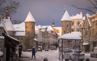 Lumi Tallinnas.