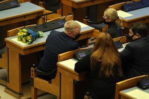 Riigikogu aseesimeeste valimine.