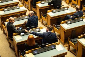 Riigikogu aseesimeeste valimine