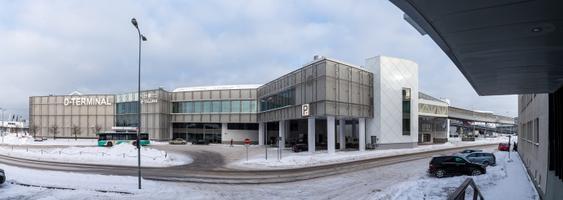 Новый паркинг в терминале D Таллиннского порта.