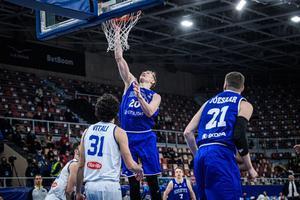 Korvpalli EM-valimäng Itaalia - Eesti