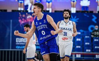Henri Drell EM-valimängus Itaalia vastu
