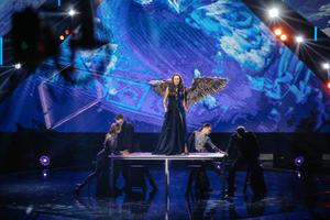 Репетиция второго полуфинала Eesti Laul.