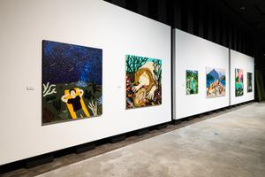 Liisa Kruusmägi näitus Solaris galeriis