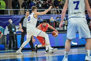 Отборочный матч ЧЕ по баскетболу: Эстония - Северная Македония.