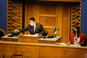 Jüri Ratas valiti riigikogu esimeheks