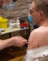 Thirty members of the Riigikogu were vaccinated with the AstraZeneca vaccine on March 18.