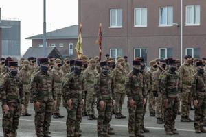 eFP Ühendkuningriigi üksuste vahetustseremoonia.