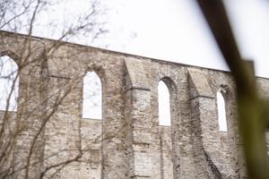 На территорию Пиритаского монастыря теперь можно попасть через автоматические ворота. Плата за вход составляет два евро.