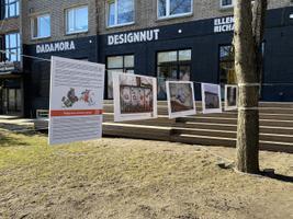 """Valgevene tänavakunsti pop-up näitus """"Valgevene protest seinal"""" Telliskivi loomelinnakus"""