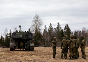 Liikursuurtükk K9 Kõu tegi Eestis esimesed testlasud