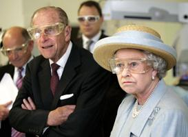 Kuninganna Elizabeth ja prints Philip 2005. aastal