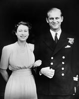 Kuninganna Elizabeth ja prints Philip 1947. aastal