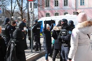 Протесты на Тоомпеа и площади Вабадузе.