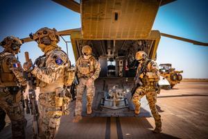 Eesti eriväelased Malis.