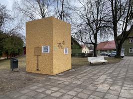 Jaak Joala monument 8. aprillil.