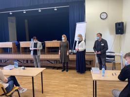 2021. aasta emakeele riigieksamie algus Türi ühisgümnaasiumis